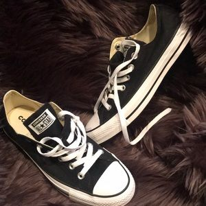 Brand new black Converse shoes, size 7